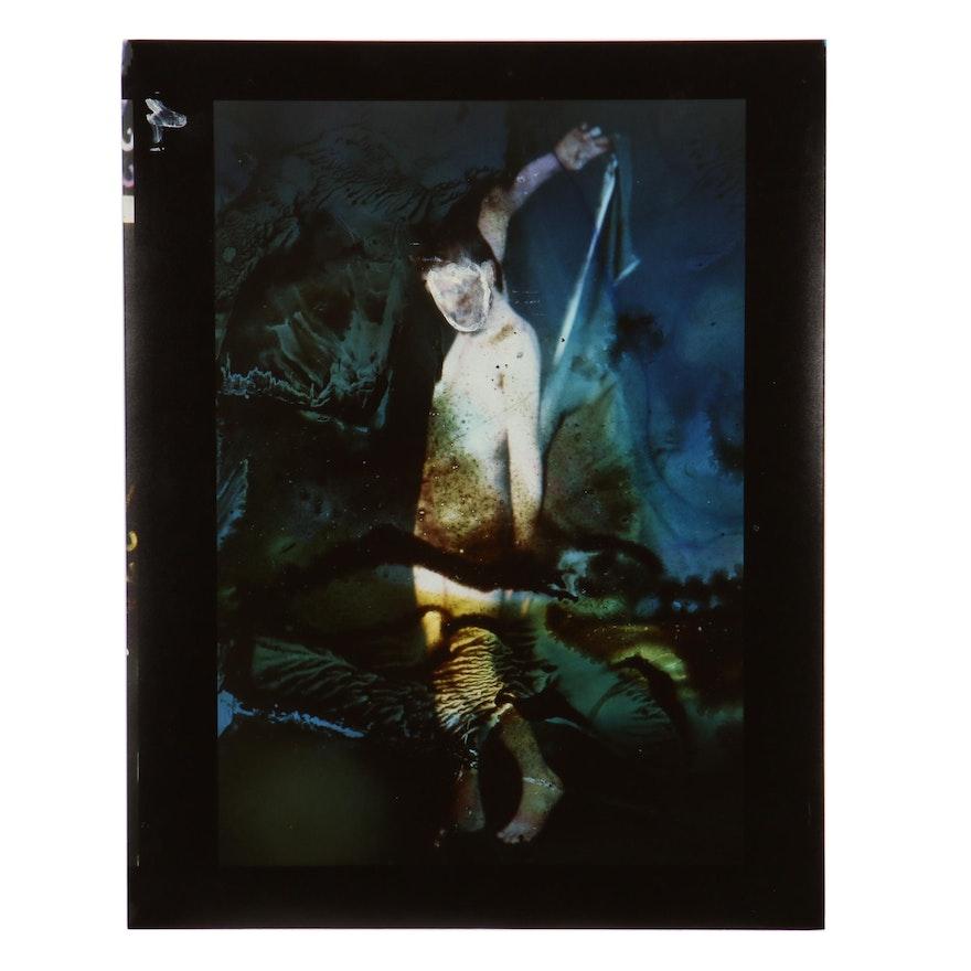 Barbara Hershey Surreal Figural Embellished Cibachrome Photograph