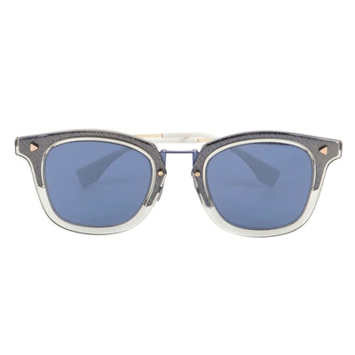 Fendi FF M0045/S Browline Sunglasses with Case