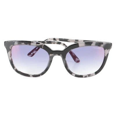Prada SPR03X Havana Sunglasses with Case and Box
