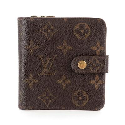 Louis Vuitton Compact Zippy Wallet in Monogram Canvas