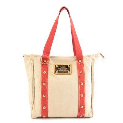 Louis Vuitton Antigua Line Cabas MM Shoulder Tote