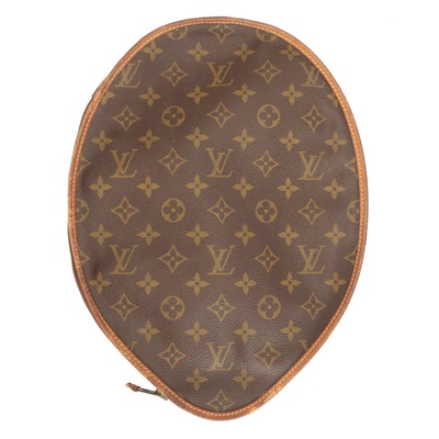 Louis Vuitton Tennis Racket Cover in Monogram Canvas and Vachetta Leather