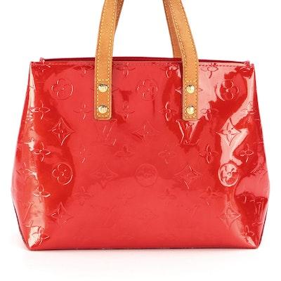 Louis Vuitton Reade PM Bag in Monogram Vernis