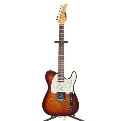 The Eagles Signed Douglas Electric Guitar