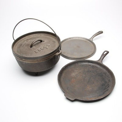 Lodge and Other Cast Iron Cookware