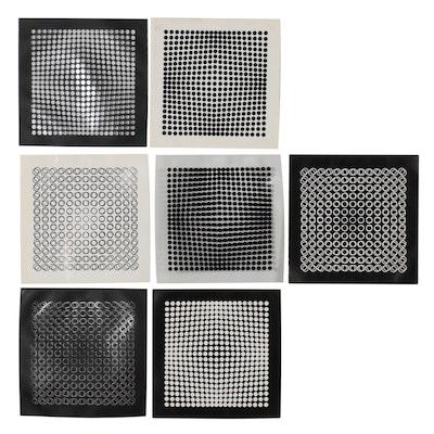 Digital Prints After Victor Vasarely