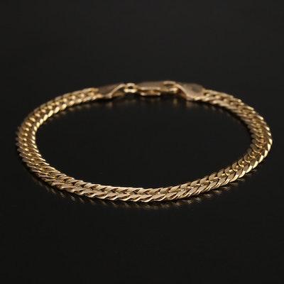 Italian Milor 14K Curb Chain Bracelet