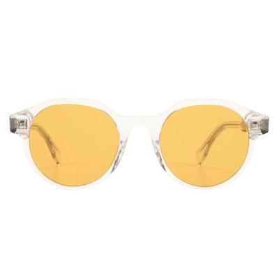 Fendi FF M0069/G/S Translucent Round Sunglasses with Case
