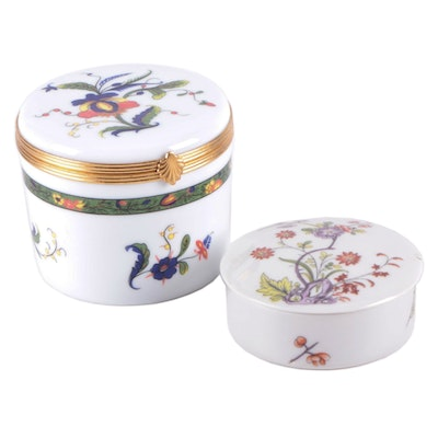 A. Raynaud & Co. Limoges Porcelain Box with The Met Porcelain Limoges Box