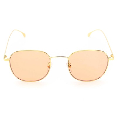 Paul Smith Arnold V2 Gold Tone Sunglasses with Case