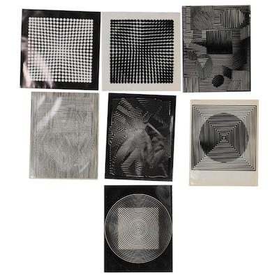 Op Art Digital Prints