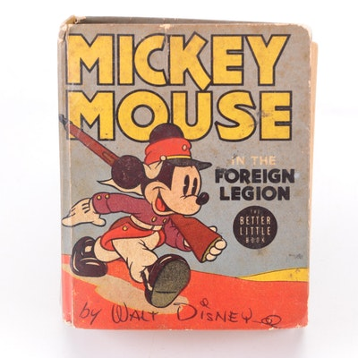 """""""Mickey Mouse in the Foreign Legion"""" by Walt Disney, 1940"""