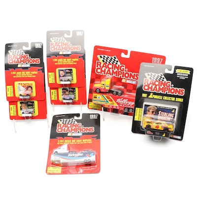 Racing Champions Diecast NASCAR Cars and Trucks, Late 20th Century