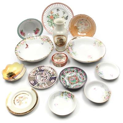 Satsuma, Nieman Marcus, and Nippon Hand Painted China Collection