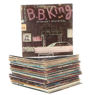 Prince, Sade, Stevie Wonder, Marvin Gaye, Other Rock, Soul, Jazz LP Records
