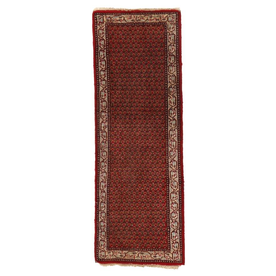 2'1 x 5'11 Hand-Knotted Indo-Persian Mir Sarouk Carpet Runner
