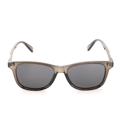 Gucci GG0936S Gray Translucent Square Sunglasses with Case