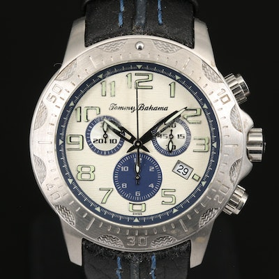 Tommy Bahama Chronograph Stainless Steel Wristwatch