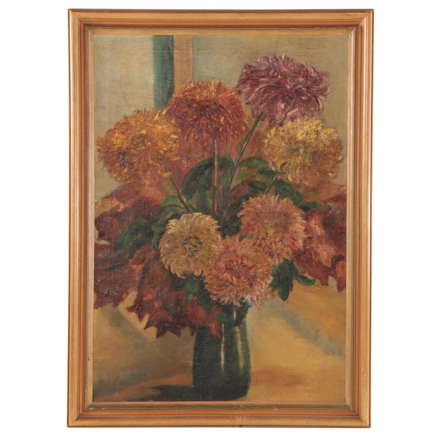 Guus van Dongen Still Life Oil Painting, Early 20th Century