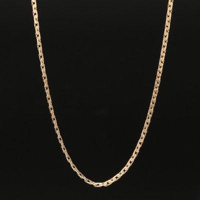 14K C-Link Necklace