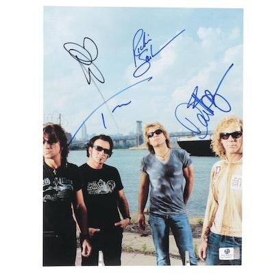 Bon Jovi Signed Photo Print, COA