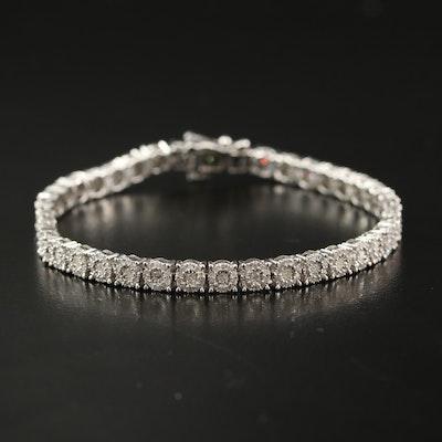 10K 2.00 CTW Diamond Bracelet