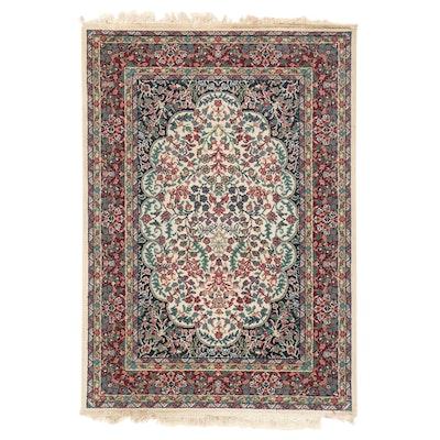 "3'9 x 5'8 Machine Made Oriental Weavers of America ""Floral Wine"" Area Rug"