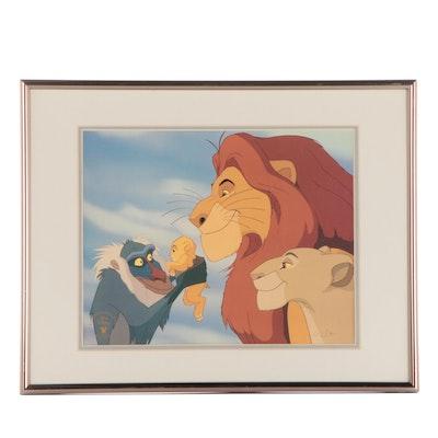 "Disney ""The Lion King"" Commemorative Offset Lithograph"