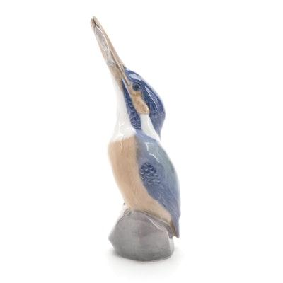 Royal Copenhagen Porcelain Kingfisher Figurine, 1954