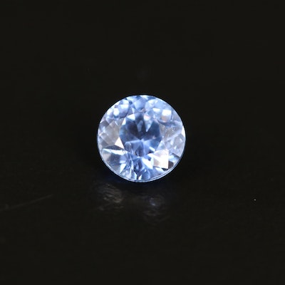 Loose 1.05 CT Round Faceted Sapphire