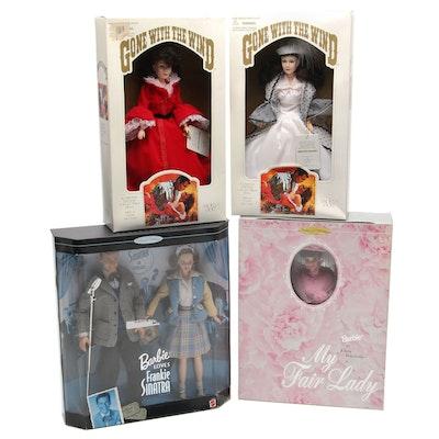 "Mattel Barbie ""Frankie Sinatra Gift Set"", ""My Fair Lady"" and Other Dolls"