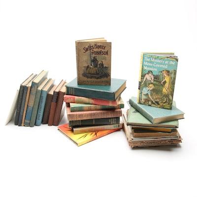 """Pinocchio,"" ""Nancy Drew,"" ""Alice in Wonderland,"" and More Children's Books"