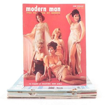 """Modern Man"" and ""Modern Sunbathing"" Magazine Issues, 1960s–1970s"