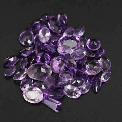 Loose 39.20 CTW Amethyst and Topaz