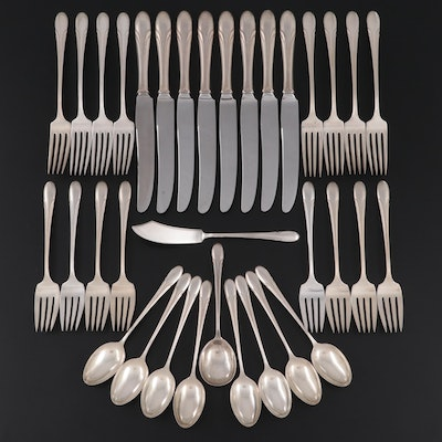 """Towle """"Symphony"""" Sterling Silver Flatware, Mid to Late 20th Century"""
