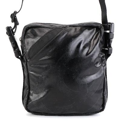 Chanel Sport Line CC Crossbody Bag in Black Coated Nylon
