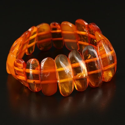 Expandable Amber Bracelet