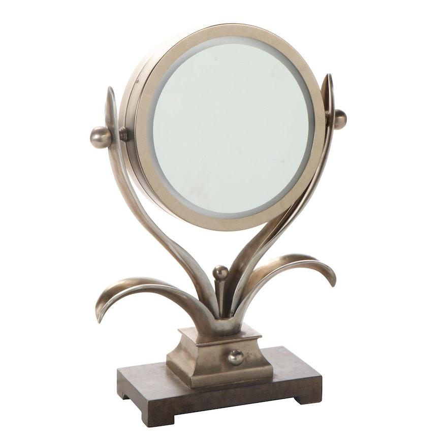 Uttermost Art Deco Style Lighted Vanity Mirror