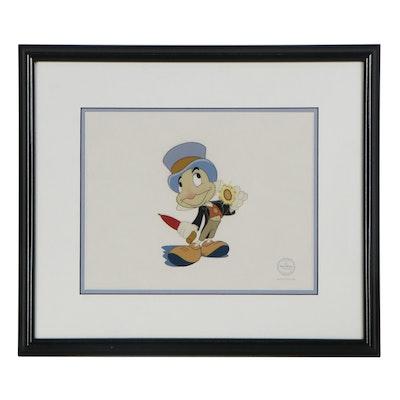 "Disney ""Pinocchio"" Sericel ""Official Conscience,"" 1996"