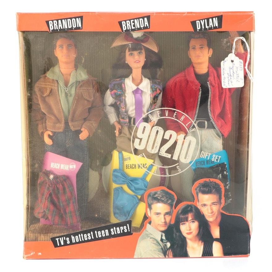 "Mattel 90210 ""Dylan"", ""Brandon"" and ""Brenda"" Dolls, 1990s"