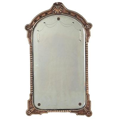 Neuer Glass of Cincinnati Giltwood and Metal Wall Mirror