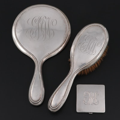 Roger Williams Co. Sterling Silver Vanity Set, Early 20th Century
