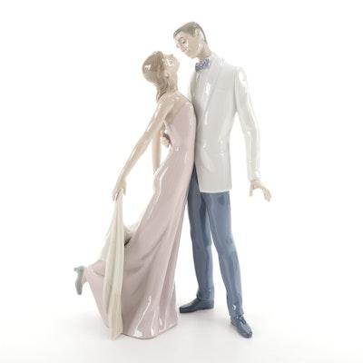 """Lladró """"Happy Anniversary"""" Porcelain Figurine Designed by José Puche"""