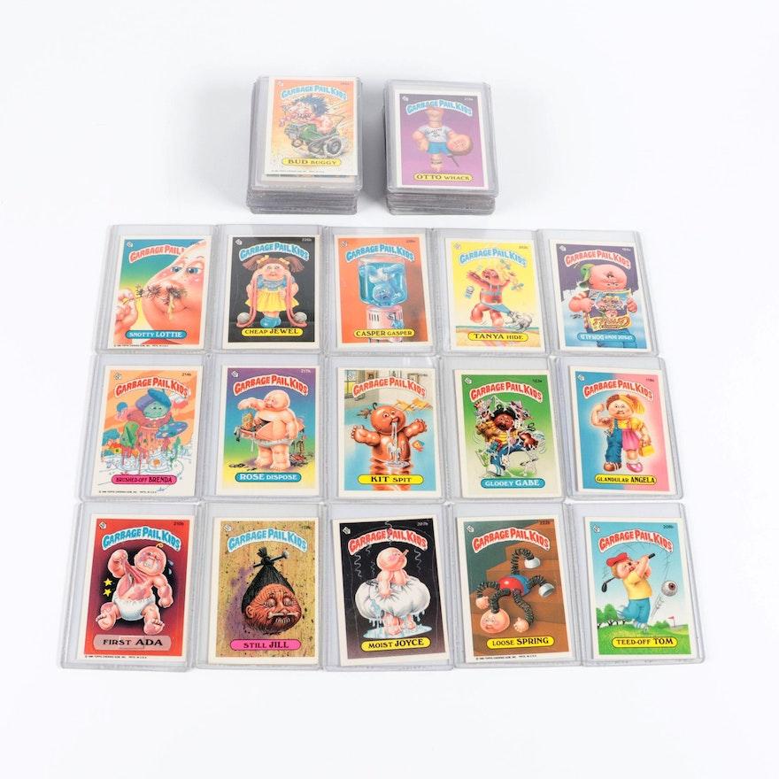 1986 Garbage Pail Kids Topps Satirical Sticker Cards