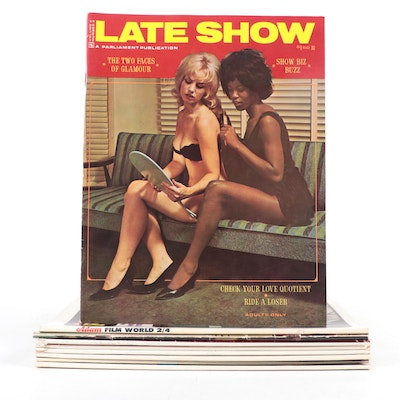 """""""Figure,"""" """"Late Show,"""" and More Magazine Issues, Mid-20th Century"""