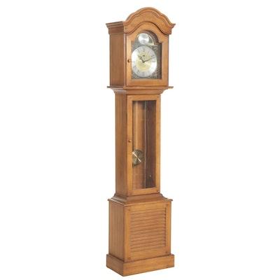 "Ridgeway ""Tempus Fugit"" Maple Grandmother Clock, Mid-20th Century"