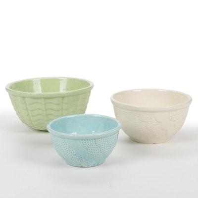 Robinson Ransbottom Stoneware Mixing Bowls