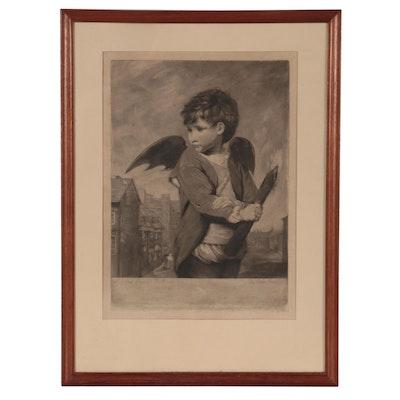 John Dean Mezzotint After Sir Joshua Reynolds, 1777