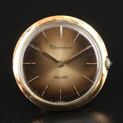 14K Lucien Piccard Da Vinci Wristwatch