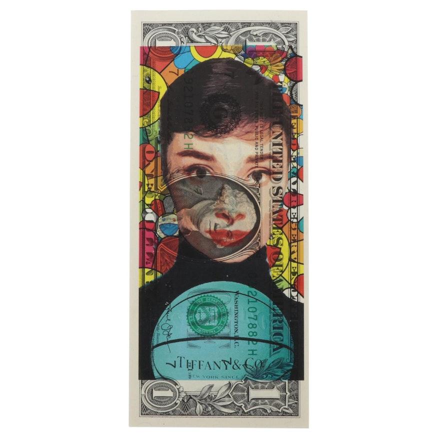 Death NYC Pop Art Featuring Audrey Hepburn, 2020